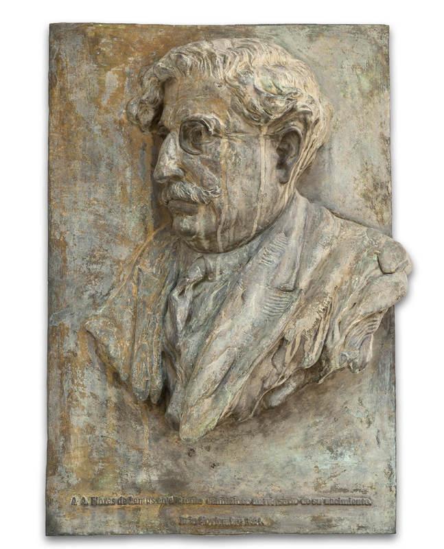 Retrato a D. Antonio Flores de Lemus